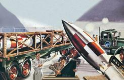 Revell 1/54 Honest John Missile - 00027