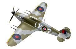 Revell 1/72 Hawker Hurricane Kit - 00401