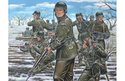 1/72 Us Infantry Ardens Ww Ii - 02503