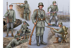 1/72 German Infantry Ww I - 02504