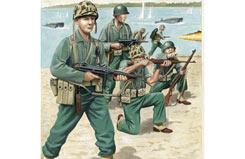 1/72 U S Marines Ww Ii - 02506