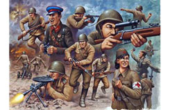 1/72 Soviet Guard Infantry - 02510