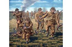 1/72 British Infantry - 02523