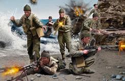 WW11 British Commandos - 02530