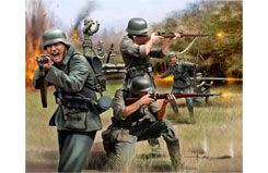 1/72 German Infantry Ww2 - 02598
