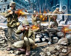 1/76 American Infantry Ww2 - 02599