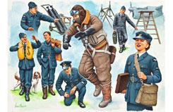 1/48 Pilots + Ground Crew - 02620