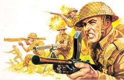 1/32 British Infantry, WWII - 02631