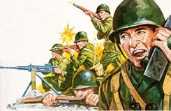 1/32 US Infantry WWII - 02632