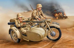 1/12 German R-12 with Sidecar - 03090