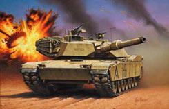1/72 M1A1 Ha Abrams - 03112