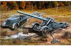 1/72 21Cm Morser 18/17Cm Kanone - 03188
