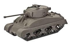 Revell 1/72 US M4A1 Sherman Model K - 03196