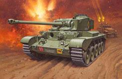 1/76 A-34 Comet Mki Tank - 03222