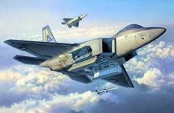 1/72 F-22A Raptor - 04386