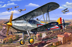 1/72 Hawker Fury Mk1 - 04693