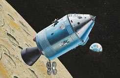 Revell 1/100 Apollo Command Module - 04831