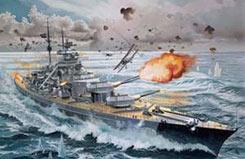 1/350 Battleship Bismarck - 05040