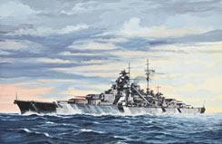 1/7000 Battleship Bismarck - 05098