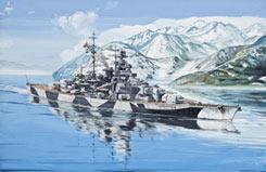 1/700 Battleship Tirpitz - 05099