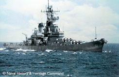 1/350 Battleship USS New Jersey 82 - 05129