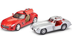 1/24 Gift Set Mercedes Gullwing - 05716
