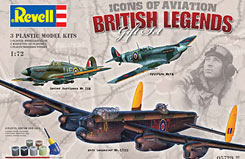 1/72 British Legends Set - 05729
