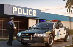 1/25 Chevy Impala Police Car - 07068