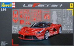1/24 La Ferrari Model Car Kit - 07073