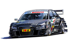1/24 Audi A4 2009 - 07176
