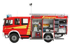 1/24 Schlingmann Firetruck - 07586