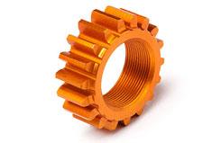HPI 18T Orange Threaded Pinion Gear - 106630
