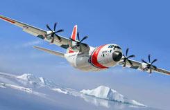 Italeri 1/72 HC-130J U.S. Coast Gua - 1348