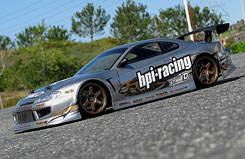 HPI 1/10 Nissan Silvia Bodyshell - 17530
