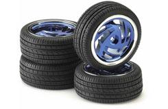 Ronin Blue Chrome Wheel Set - 211000034