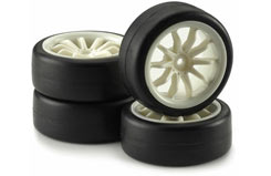 6 Spoke White Wheel Set - 211000037