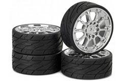 Wheel Set Worm Chrome - 211000071