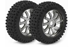 1/8 Ar Wheels Saw Minion Chrome - 214000002