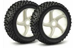 1/8 White 5Spk Wheels Pk2 - 214000021