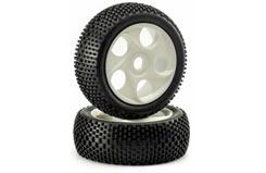 1/8 Mini Spike Wheels White - 214000025