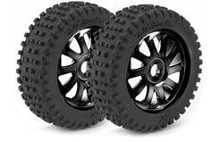 Wheels 1/8 Saw/Dirt Black - 214000041