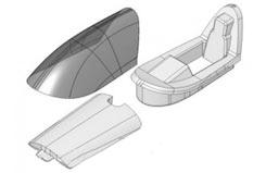 Canopy Frame & Topdeck Gemini Ii - 224215