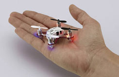 Nano Micro Quad Copter (White) - 23970