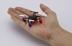 Nano Micro Quad Copter (Black) - 23971
