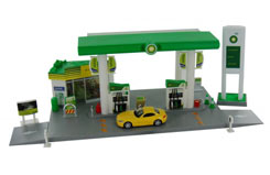 1:64 Bp Service Station Playset - 24444fw