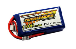 Supersport 1300mAh Lipo Batter - 2563
