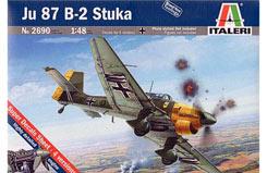 Italeri 1/48 Ju87 B2 Stuka - 2690