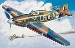 Italeri 1/48 RAF Hurricane Mk1 - 2705