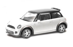 Uni 3inch Die Cast Mini Cooper S JCW - 344006w