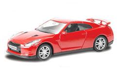 3 Inch Die Cast Nissan GT-R Red - 344013r